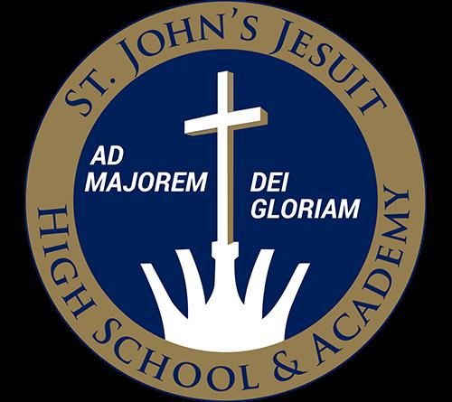 St Johns Jesuit logo